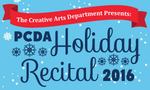 PCDA Holiday Recital
