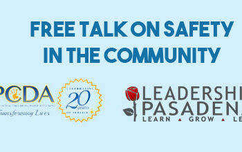 Free Talk on Safety in the Community