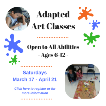 Adapted Art Classes March18 homepage scroll
