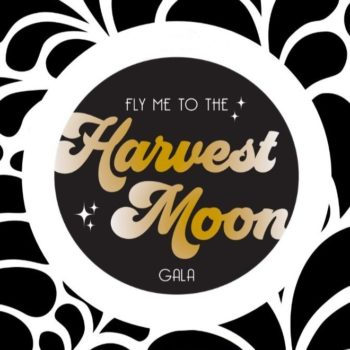 Fly Me to the Harvest Moon - Square Display