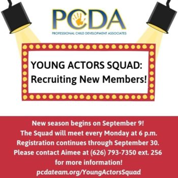 Young Actors Squad September session